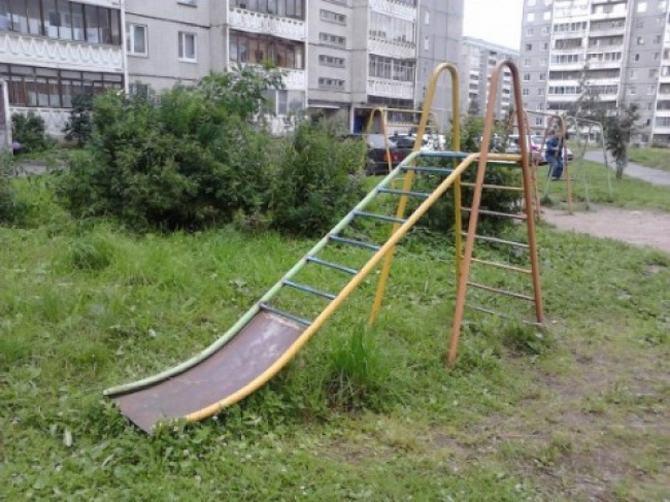 18 playgrounds mais estranho que você pode encontrar 12