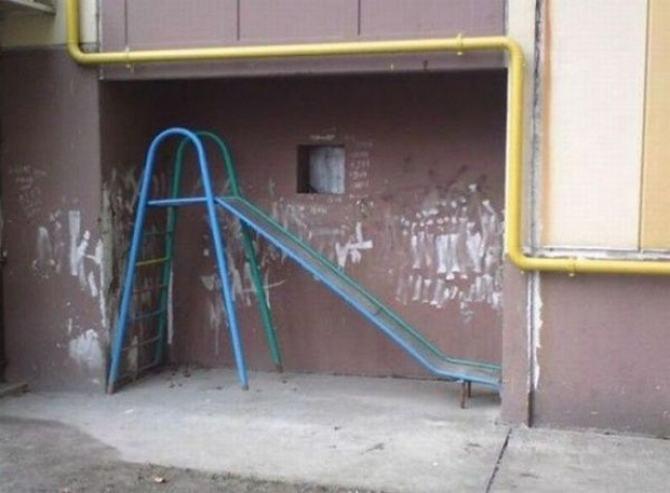 18 playgrounds mais estranho que você pode encontrar 15