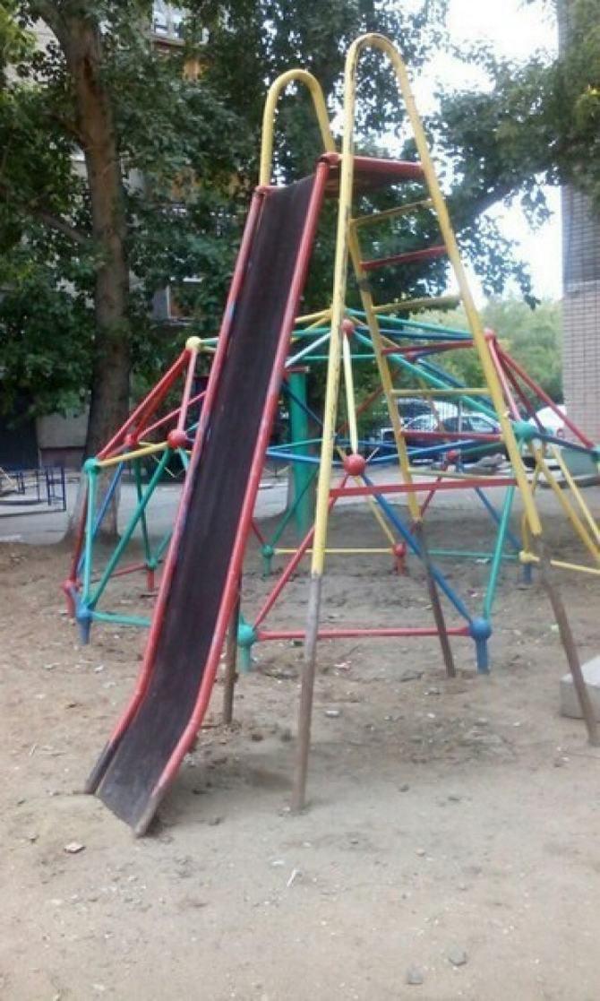 18 playgrounds mais estranho que você pode encontrar 16