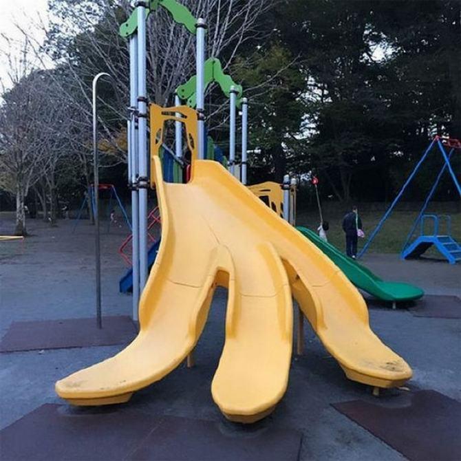 18 playgrounds mais estranho que você pode encontrar 20