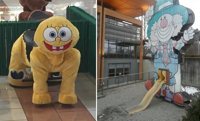 18 playgrounds mais estranho que você pode encontrar 1
