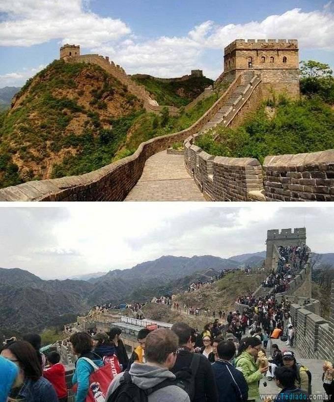Como as fotos de destinos de viagens populares deveriam realmente parecer (24 fotos) 2