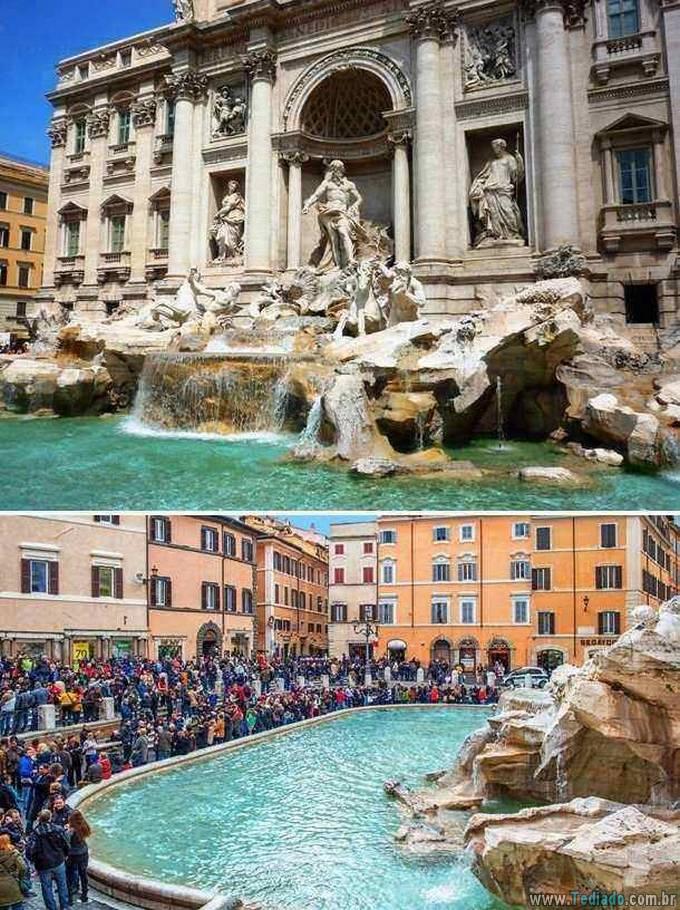 Como as fotos de destinos de viagens populares deveriam realmente parecer (24 fotos) 10