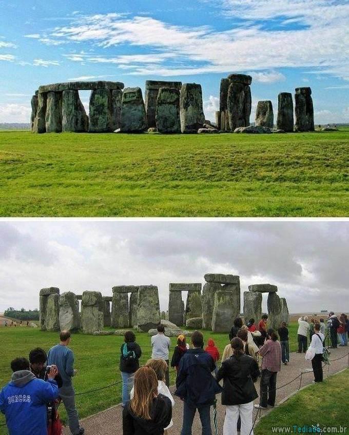 Como as fotos de destinos de viagens populares deveriam realmente parecer (24 fotos) 13