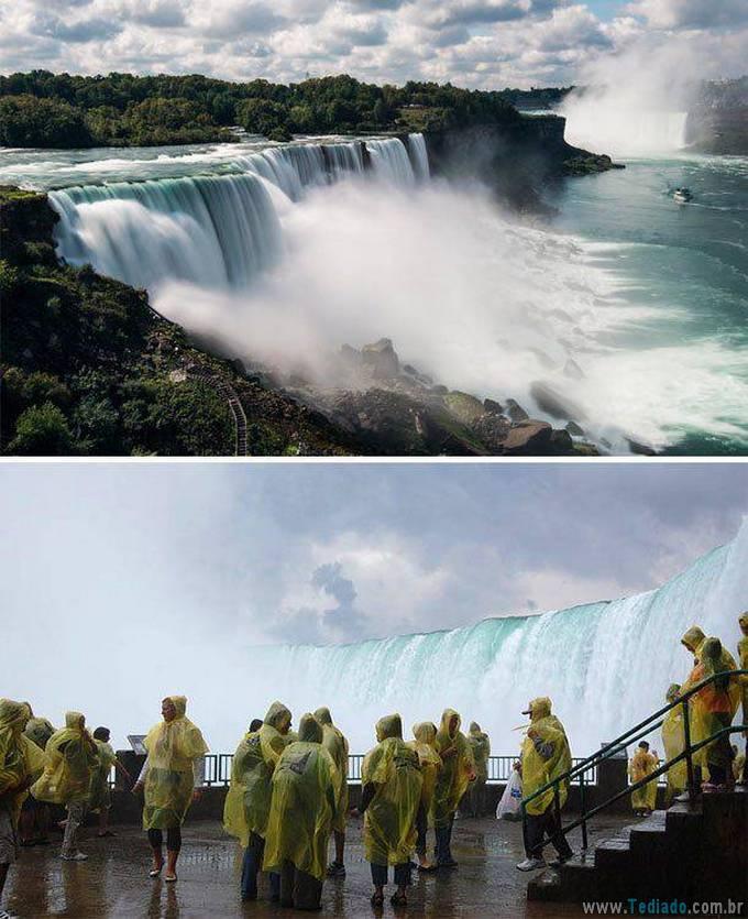 Como as fotos de destinos de viagens populares deveriam realmente parecer (24 fotos) 17