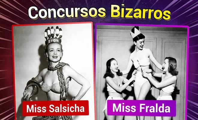 Os concursos de Miss Universo mais estranhos! 1