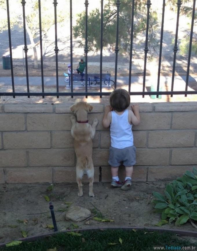 19 vezes que seus filhos e animais de estimação estavam junto 8