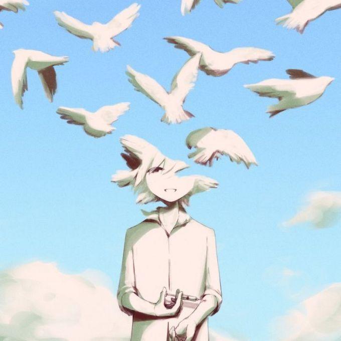 Ilustrações poderosas por artista japonês que o fará pensar (40 fotos) 5