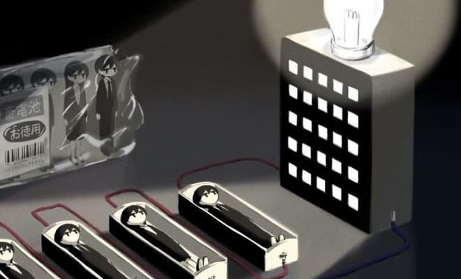 Ilustrações poderosas por artista japonês que o fará pensar (40 fotos) 2