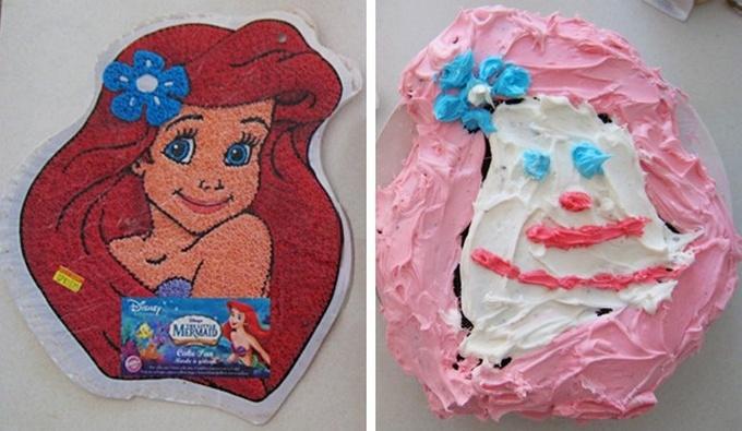 18 bolos engraçados que poderiam ganhar um prêmio da pior sobremesa já feita 4