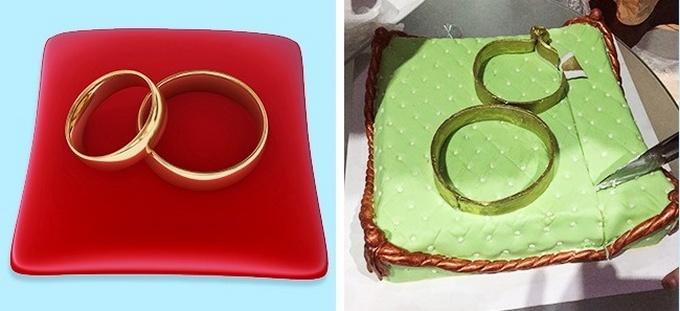 18 bolos engraçados que poderiam ganhar um prêmio da pior sobremesa já feita 15