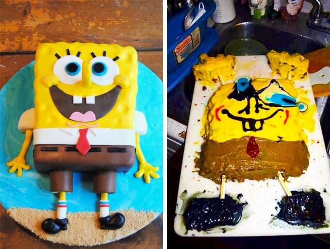 18 bolos engraçados que poderiam ganhar um prêmio da pior sobremesa já feita 18