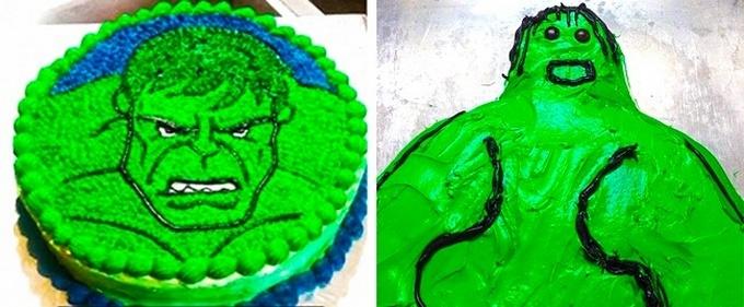 18 bolos engraçados que poderiam ganhar um prêmio da pior sobremesa já feita 19