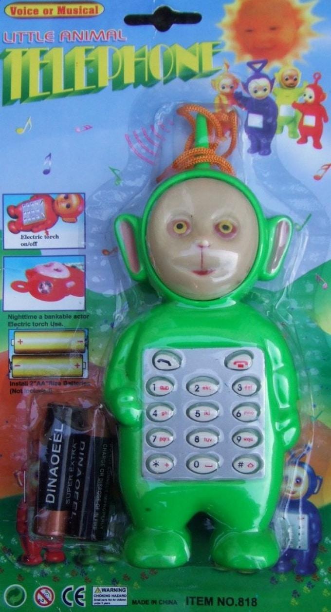 16 brinquedos estranhos criados por pessoas que não parecem gostar de crianças 16