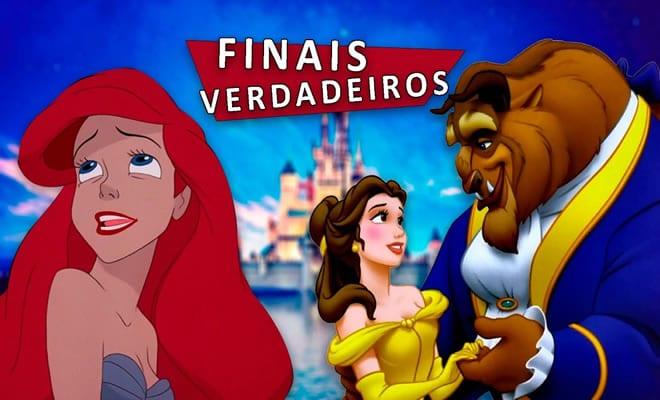 Os verdadeiros finais de 9 filmes da Disney 2