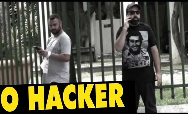 Pegadinha - O hacker 9
