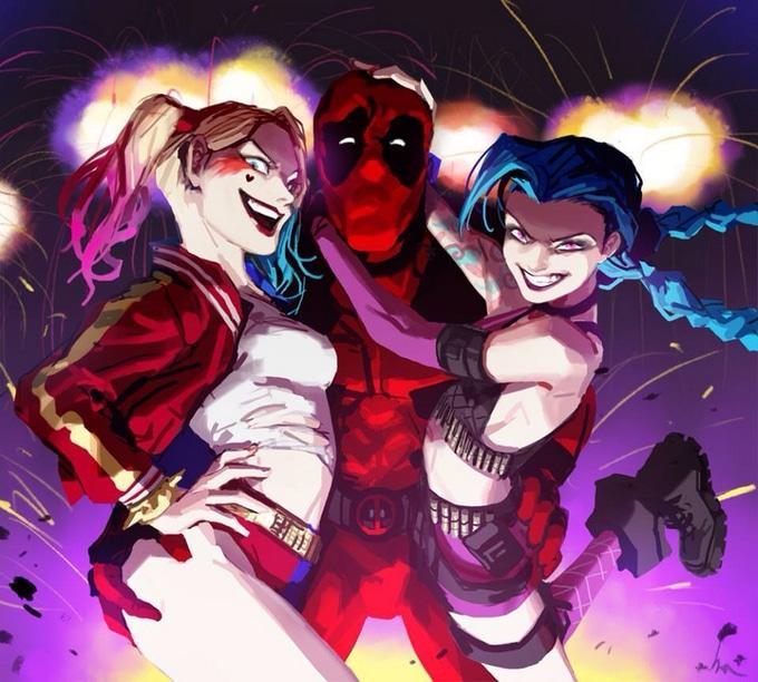 Que tiro foi esse com Deadpool 15