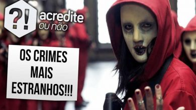 Os crimes mais estranhos do mundo