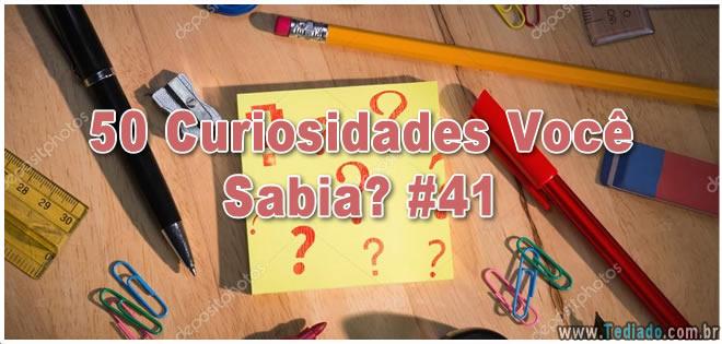 50 Curiosidades Você Sabia? #41