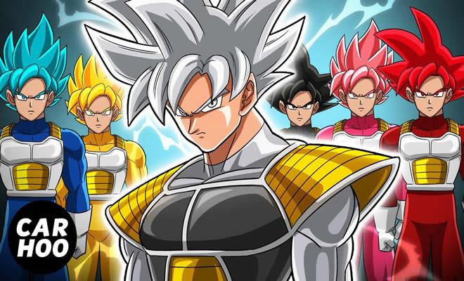 Goku Saiyan Rangers 2 - O ataque de Jiren 5