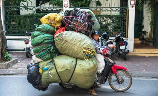 13 métodos de transporte louco de todo o mundo 21