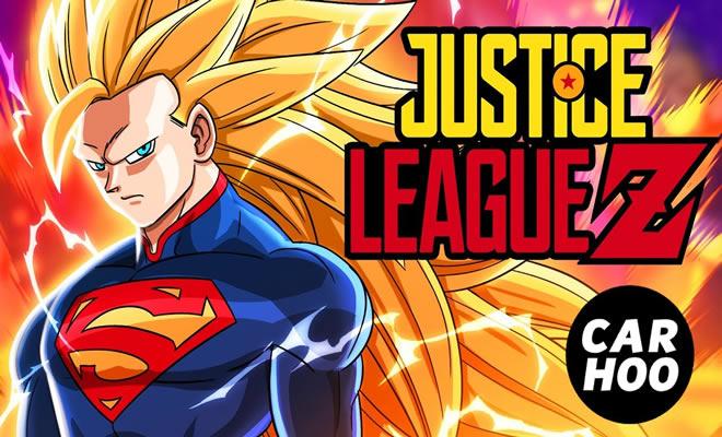 Paródia - Liga da justiça e Dragon Ball Z 7