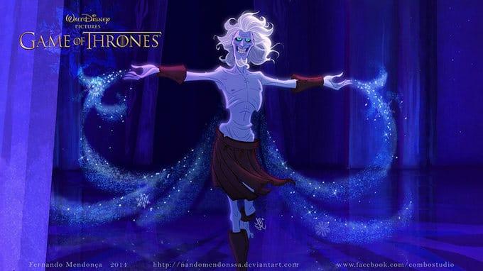 Se Game Of Thrones fosse feito pela Disney (11 fotos)
