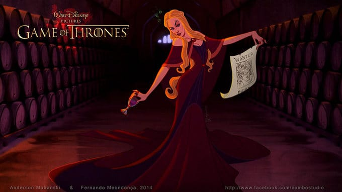 Se Game Of Thrones fosse feito pela Disney (11 fotos) 2