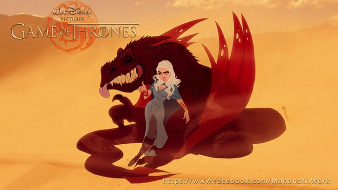 Se Game Of Thrones fosse feito pela Disney (11 fotos) 3