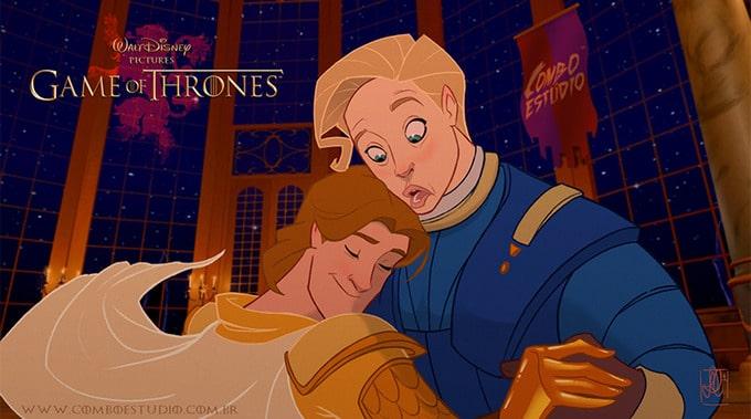 Se Game Of Thrones fosse feito pela Disney (11 fotos) 6