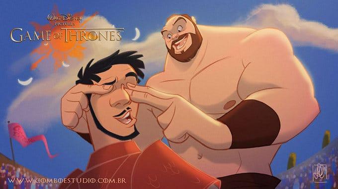 Se Game Of Thrones fosse feito pela Disney (11 fotos) 9