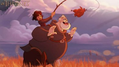game of thrones - se game of thrones fosse feito pela disney 390x220 - Se Game Of Thrones fosse feito pela Disney (11 fotos)