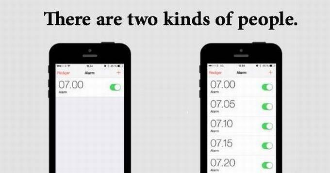 Existem dois tipos de pessoas, qual você é? (16 fotos) 8