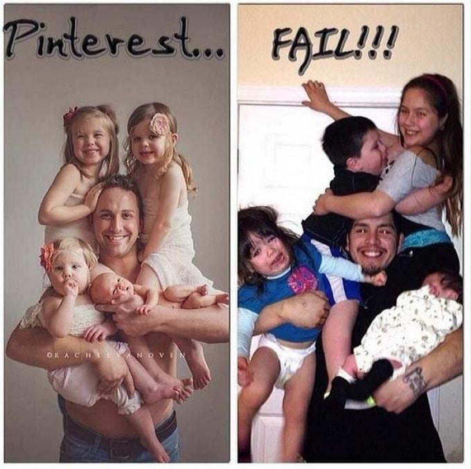 Expectativa vs realidade: Sessão de fotos com bebês (14 fotos) 3