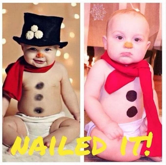 Expectativa vs realidade: Sessão de fotos com bebês (14 fotos) 10