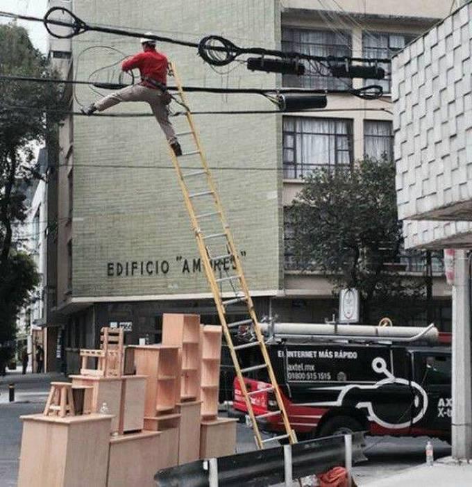 Homens fazendo coisas estranhas e malucas (32 fotos) 24