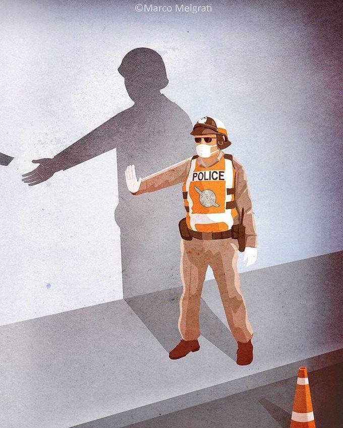 31 ilustrações sobre a triste verdade da vida moderna 5