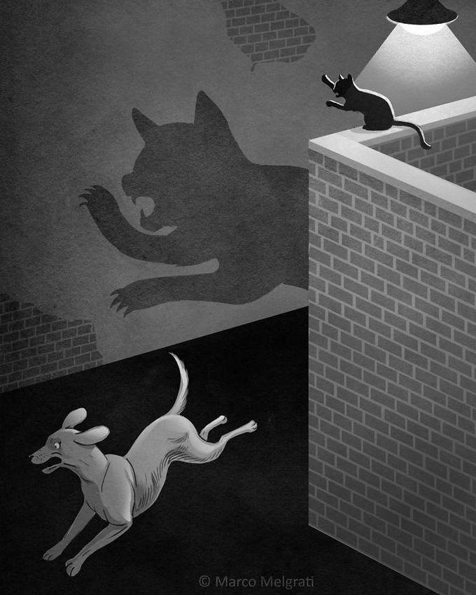 31 ilustrações sobre a triste verdade da vida moderna 11