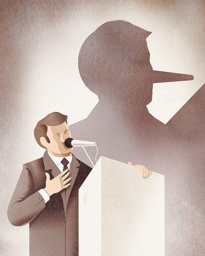31 ilustrações sobre a triste verdade da vida moderna 13