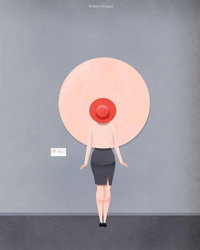 31 ilustrações sobre a triste verdade da vida moderna 30