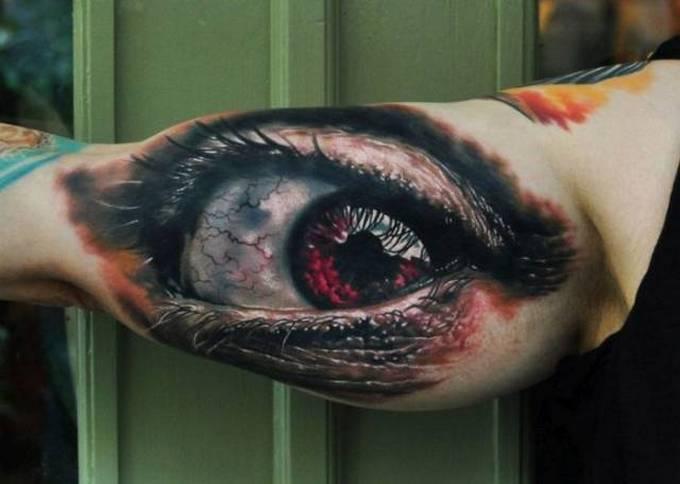 35 tatuagens loucas que são muito realistas 6