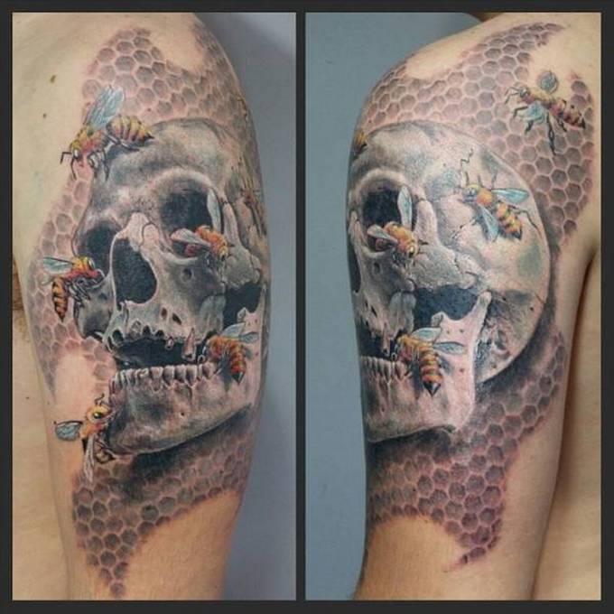 35 tatuagens loucas que são muito realistas 10