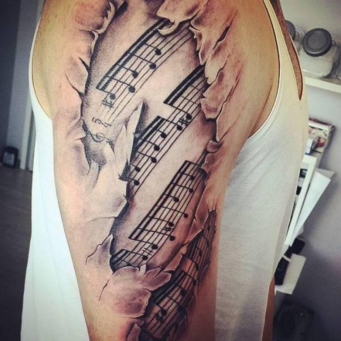 35 tatuagens loucas que são muito realistas 24