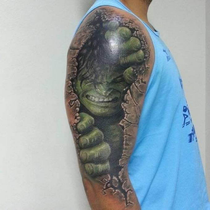 35 tatuagens loucas que são muito realistas 27