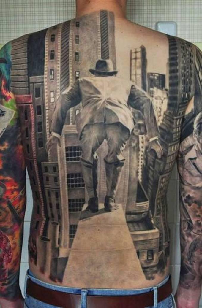 35 tatuagens loucas que são muito realistas 33