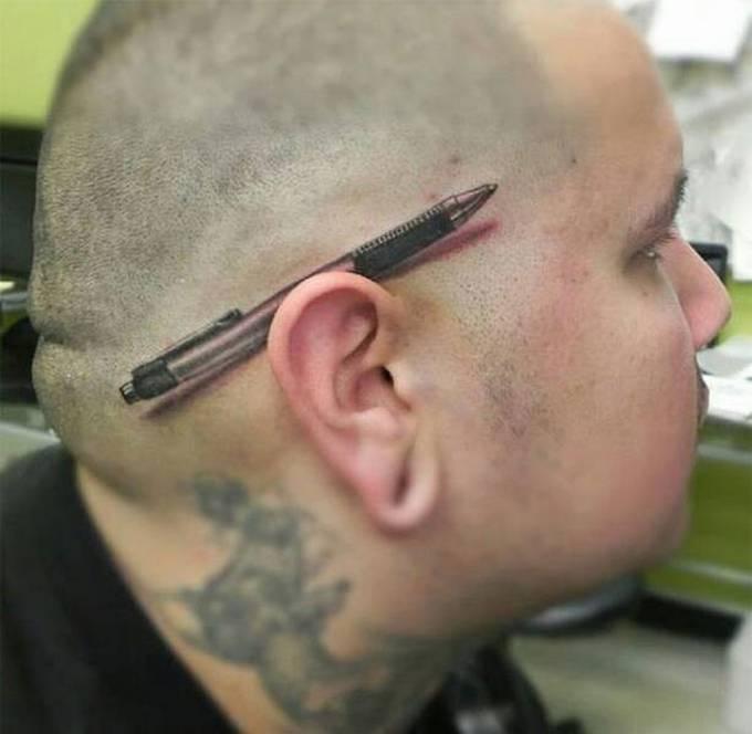 35 tatuagens loucas que são muito realistas 35
