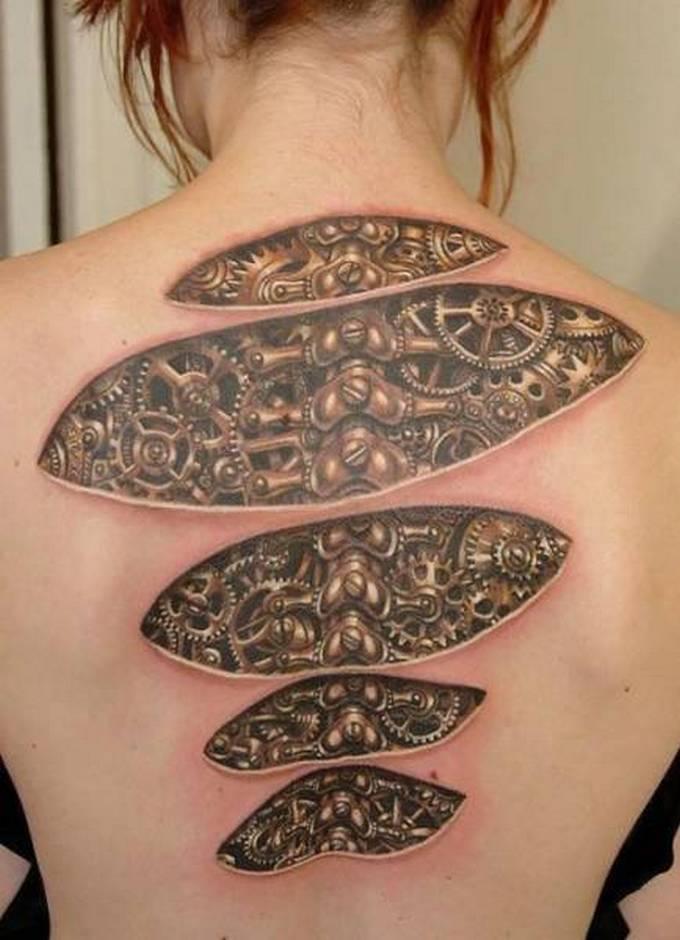 35 tatuagens loucas que são muito realistas 36
