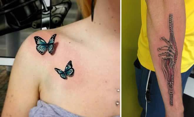 35 tatuagens loucas que são muito realistas 5
