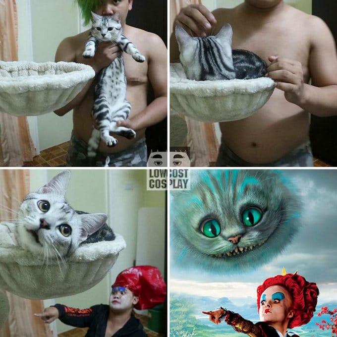 Cospobre: O Tailandês dos cosplays hilários ataca novamente (30 fotos) 18