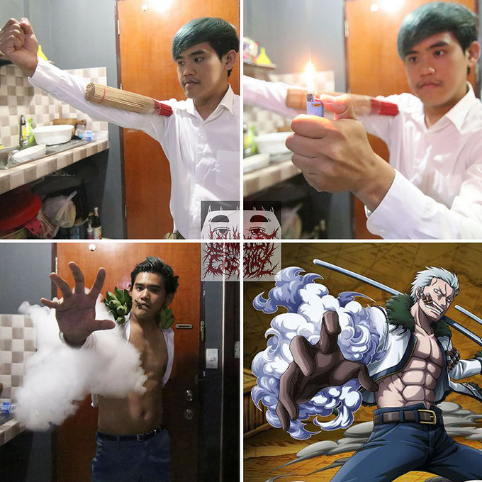 Cospobre: O Tailandês dos cosplays hilários ataca novamente (30 fotos) 25
